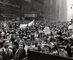 Times Square 7 May 1945