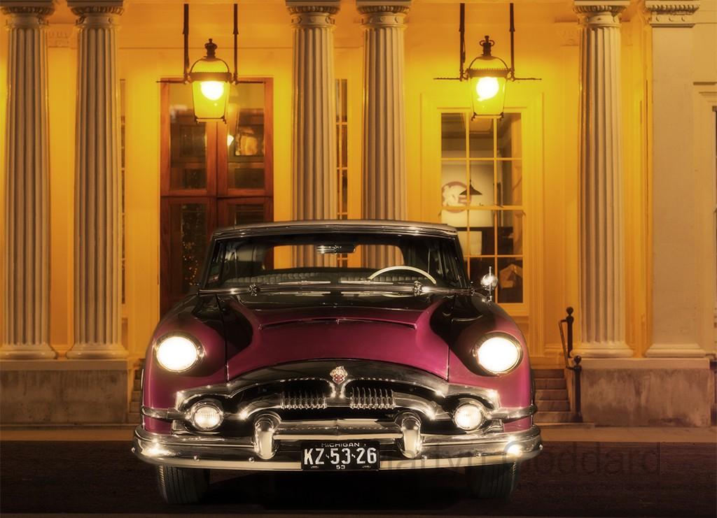 The Car Shop >> 1953 Packard Caribbean convertible outside the Athenaeum ...