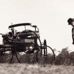 1886 Benz automobile replica